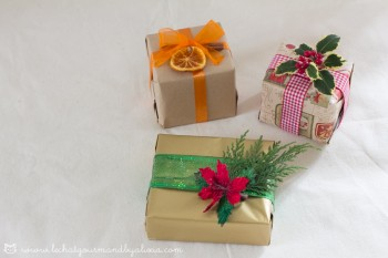 Idee per decorare i regali di Natale || Christmas gift wrapping ideas 2016